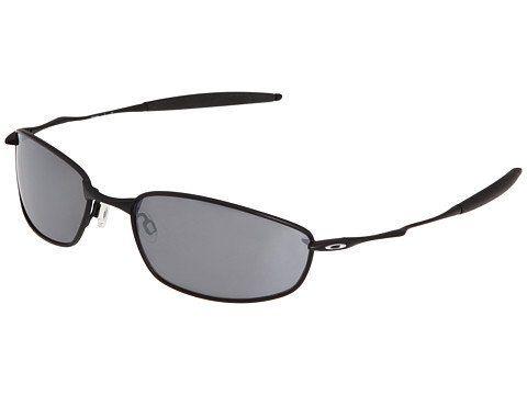 New Oakley 05-715 Whisker Black/Black Iridium Lens 60mm Sunglasses ...