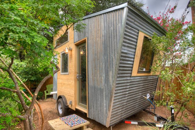 A 12 ft long tiny house with an industrial-chic look Designed and