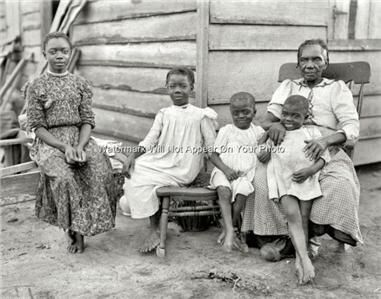 Famous Great Depression | The Great Depression Era Black African American Negro Poor Family ...