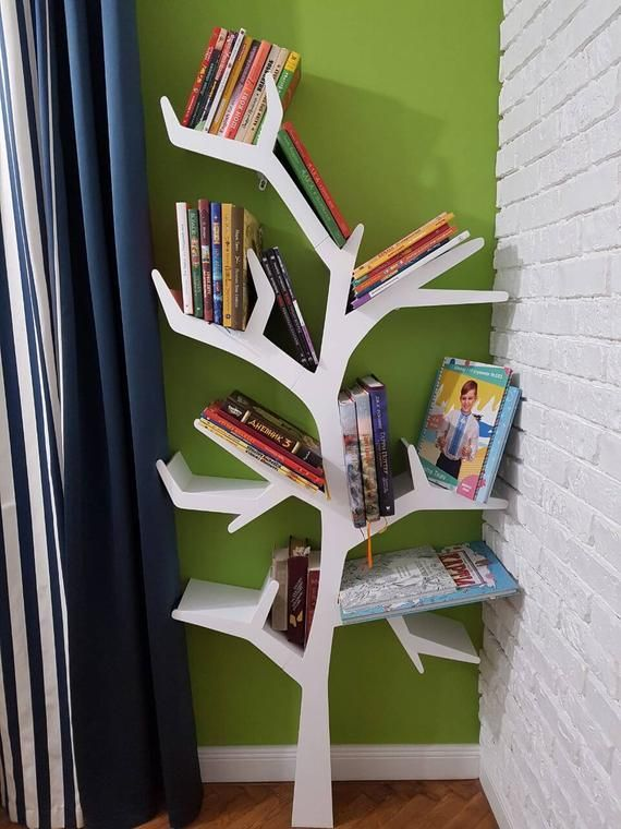 Tree Bookshelf Interior Furniture Bookshelf Toy Shelf