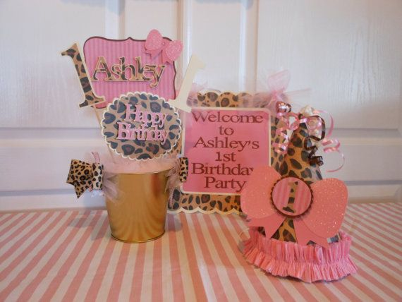 Deluxe 1st Birthday Wild Leopard Party by ASweetCelebration 14900