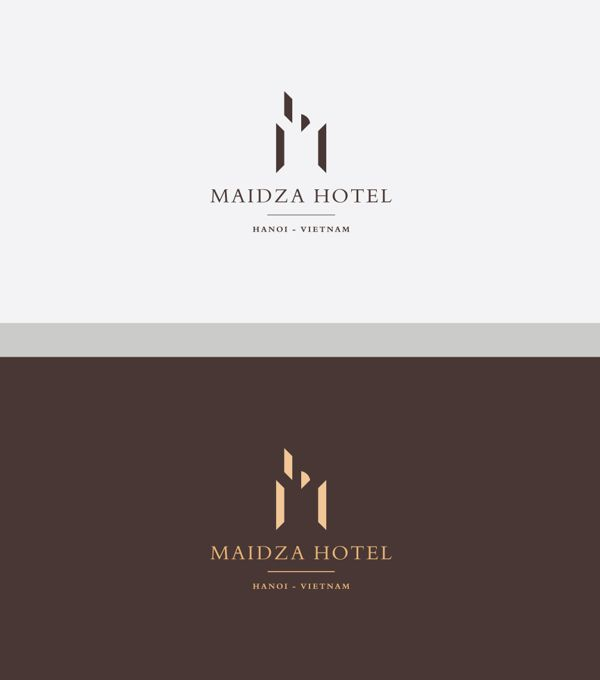 Maidza Hotel Branding by Hung Cao, via Behance