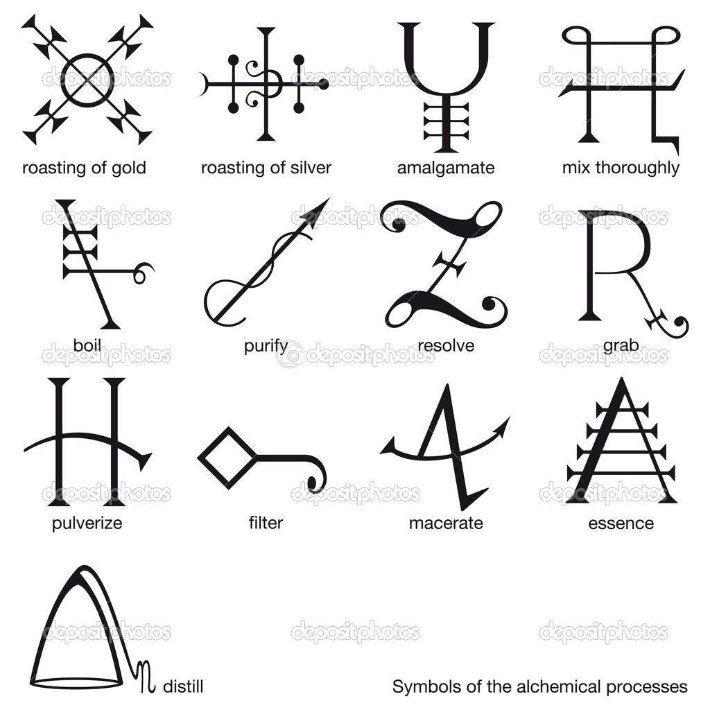 Alchemical Symbol For Water