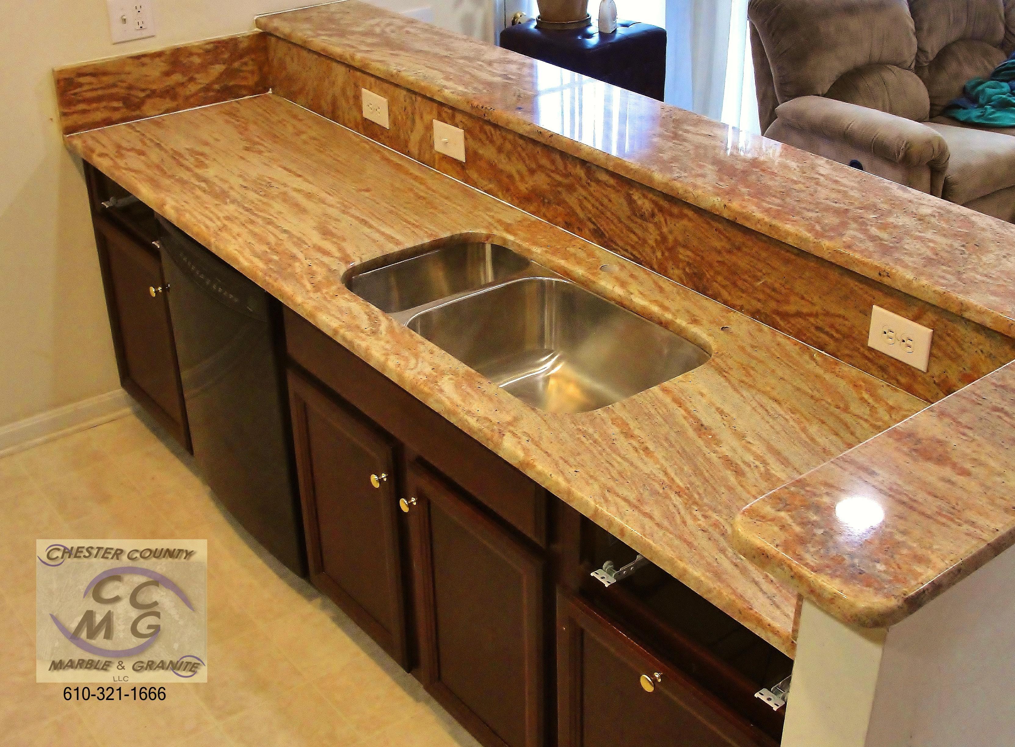 Golden Oak granite Complete kitchens, Kitchen, Granite
