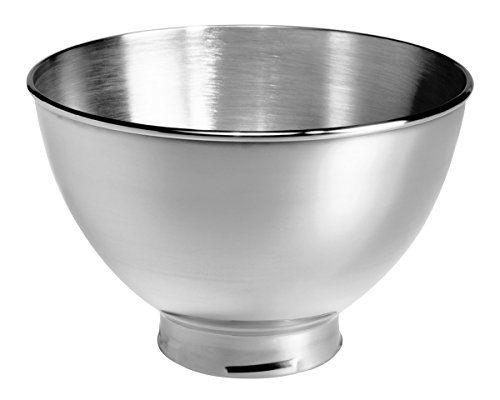 Kitchenaid Kb3ss 3 Quart Stainless Steel Bowl For Tilt Head Stand Mixers Kitchen Aid Kitchenaid Artisan Stand Mixer Stainless Steel Bowl