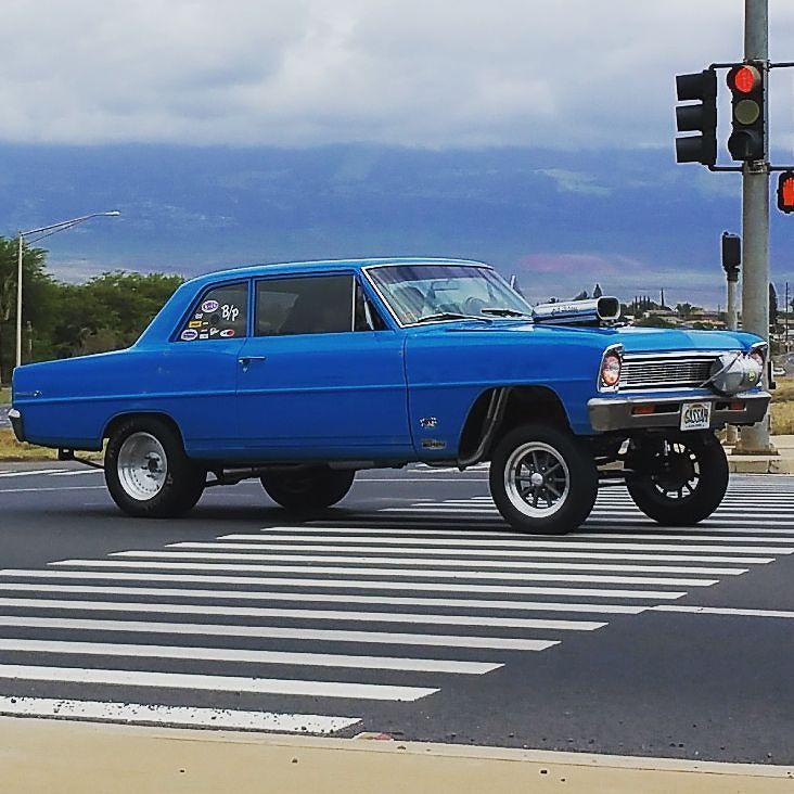 Spotted a Nice Chevy Gasser! #protecautocare #engineflush #carrepair ...