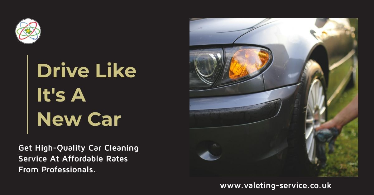 Driving a properly washed and cleaned car is one of the