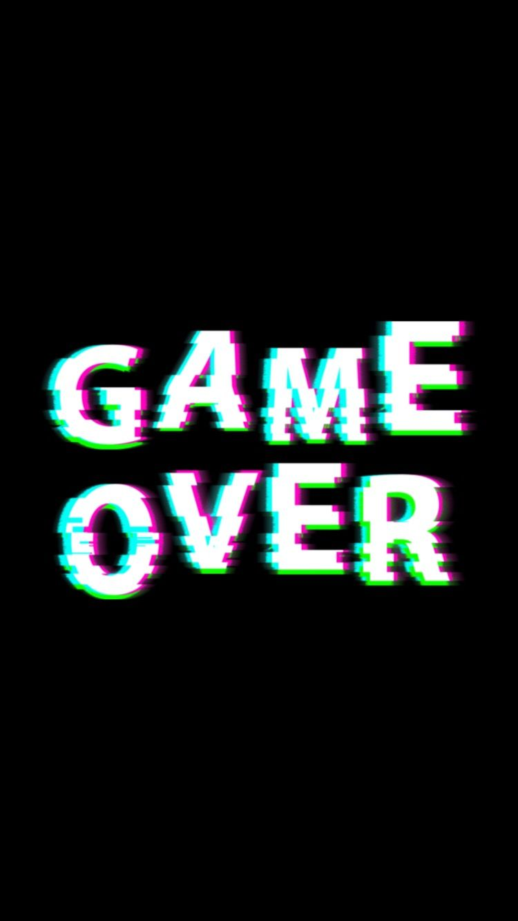 #gameover #wallpaper #tumblr #aesthetic | Wallpaper, 2019 | Telefon hintergrundbilder, Handy ...
