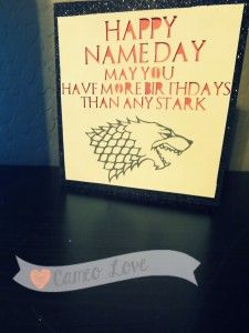 Game of thrones birthday card cameo silhouette pinterest game of thrones birthday card bookmarktalkfo Image collections