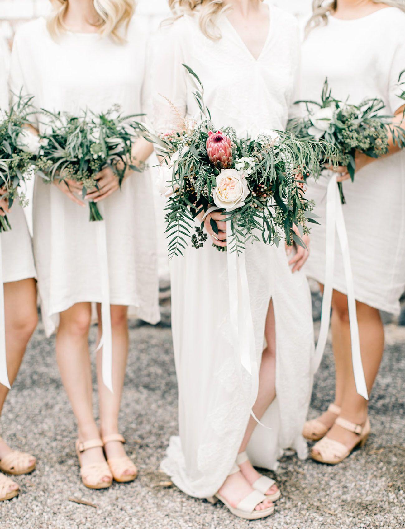 Hip, Modern + Minimal Tucson Desert Wedding | Weddings