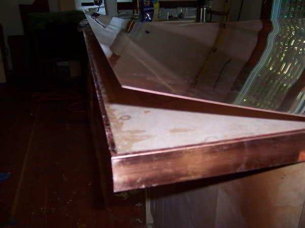 Diy Copper Countertop Metalworking Forum Gardenweb Copper Diy Copper Countertops Kitchen Design