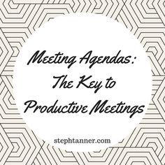 Why Your Nonprofit Needs Meeting Agendas