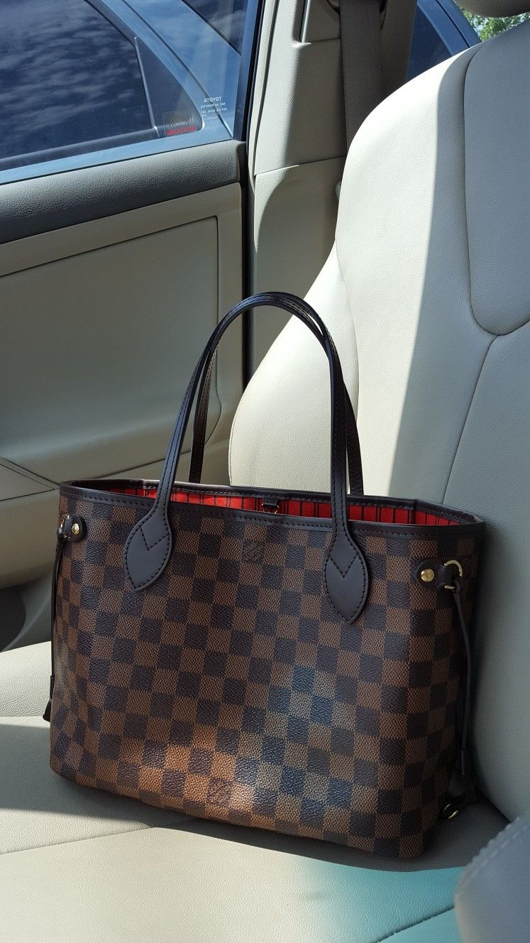 f6a4acc7a My Louis Vuitton NEVERFULL pm in Damier Ebene | I love Louis Vuitton ...