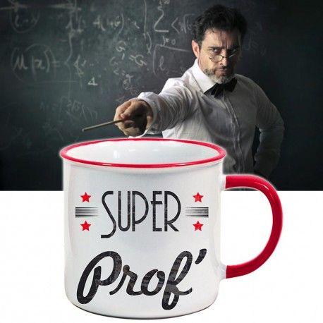 Mug super Prof #cadeau #prof #instit #enseignant #tasse #superprof