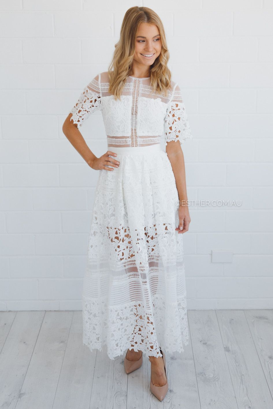 Stitch witchery australia white dresses