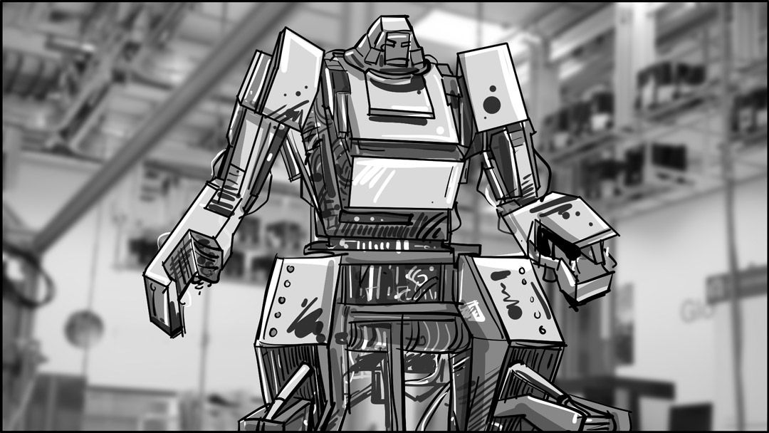 Robot Factory Storyboards By Storyboard Artist Cuong Huynh Got A