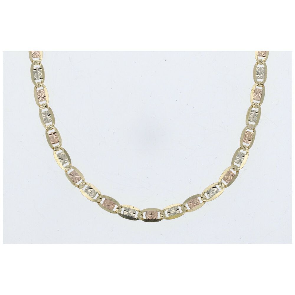 Gucci Link Chain Ebay >> Ebay Sponsored 4mm Diamond Cut Gucci Link Chain Necklace In 14k Tri