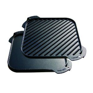 Lodge Logic Single Burner Reversible Grill / Griddle. I need one of these ASAP!