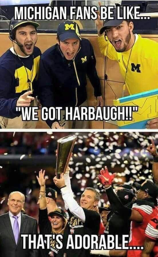 OSU, _ichigan, Urban Meyer, Jim Harbaugh | Ohio state ...