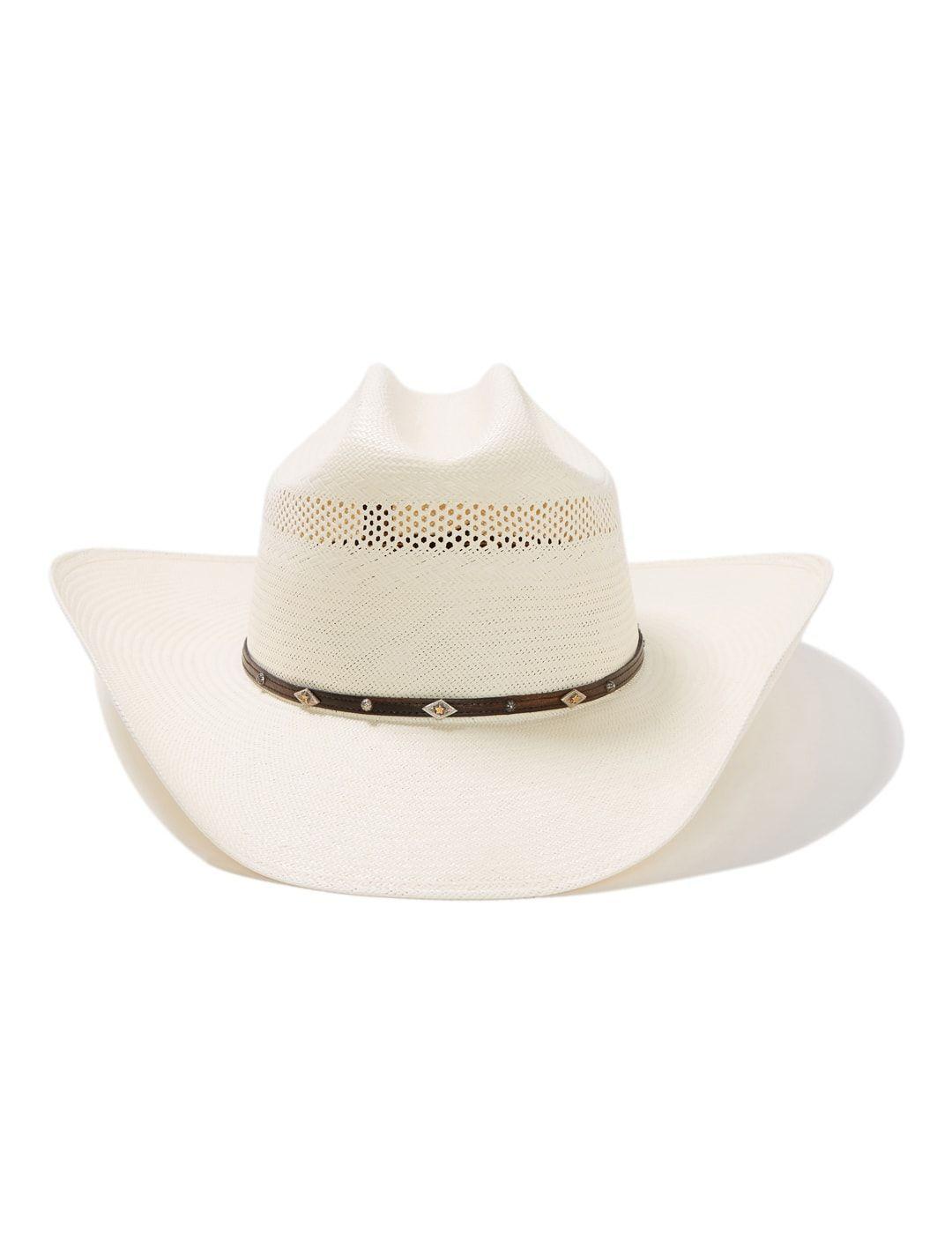 Stetson Lobo 10X Straw Cowboy Hat Item SSLOBO3042 49ac43e98bd