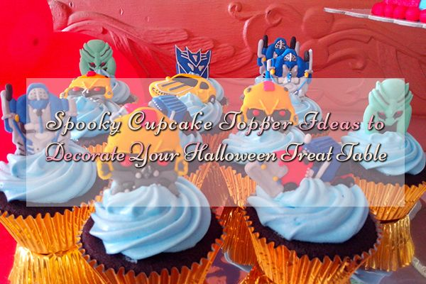 Halloweenspookycakedecor ideas are here to help you plan the most - halloween cupcake decor