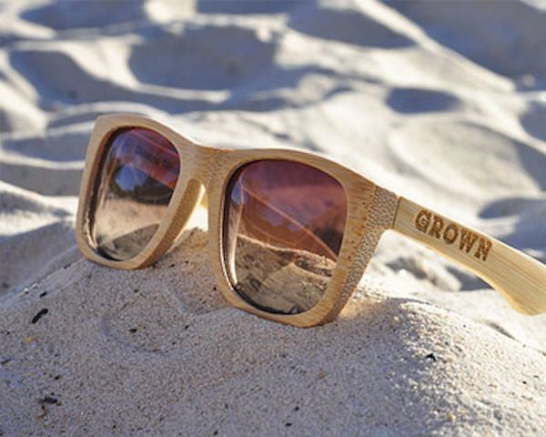awesome sunglasses  Awesome Bamboo Sunglasses - $89