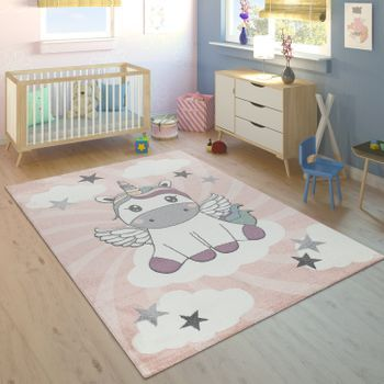 Kurzflor Kinderteppich Sterne Grau (mit Bildern) Shaggy