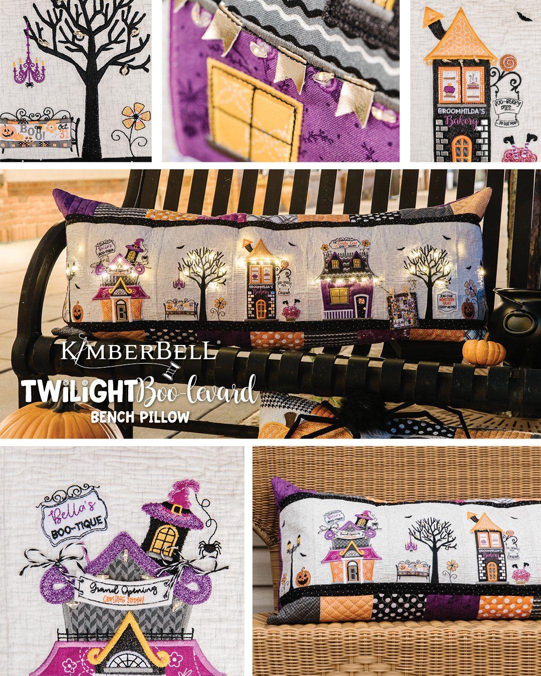 PRE-ORDER KimberBell Candy Corn Quilt Shoppe Embellishment Kit