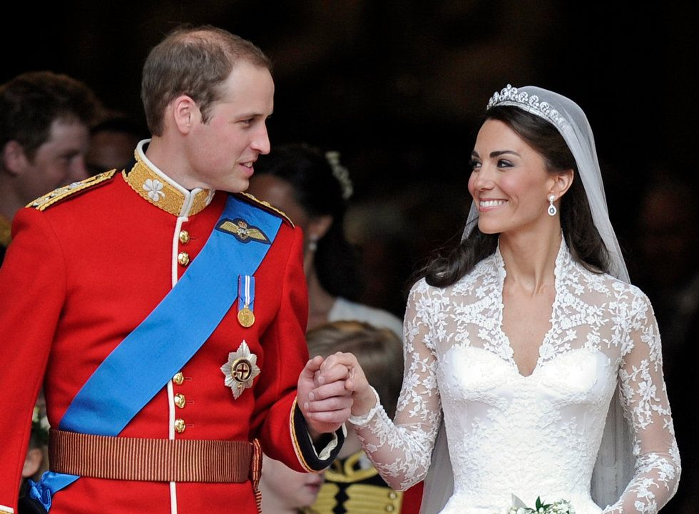 A Collection Of Images From The Royal Wedding Prince William And Kate Middleton In Westminster Abbey Billions Around World Watched