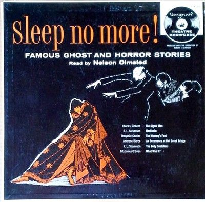 6edb7a634 NELSON OLMSTED - SLEEP NO MORE ! / FAMOUS GHOST & HORROR STORES ...