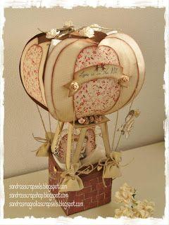 Sandra\'s Scrapshop   Paper Craft   Pinterest   Hot air balloons, Air ...