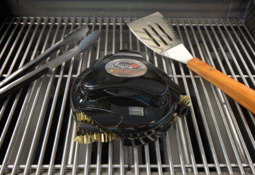 Grillbot - Black - http://www.majestyasseenontv.com/grillbot-black/ |  Grillbot, Clean grill, Cleaning robot