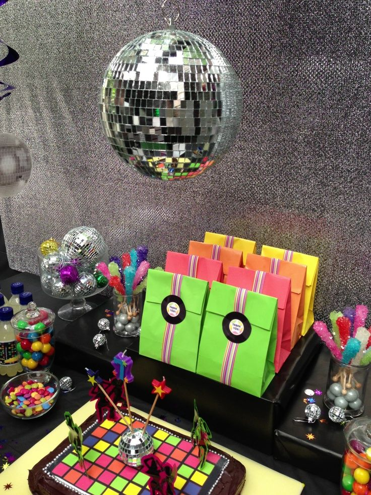 70s disco party. Little monster party | Disco party ideas | Pinterest