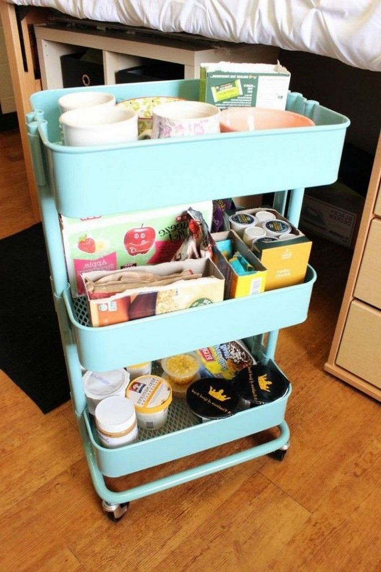 45+ Best Tips and Tricks Dorm Room Organization Storage Low-Budget Ideas