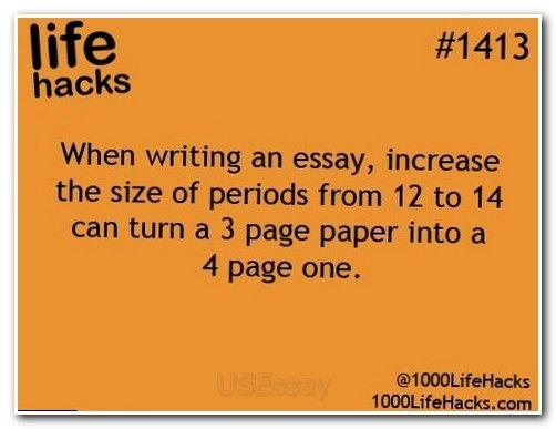 Process essay subjects