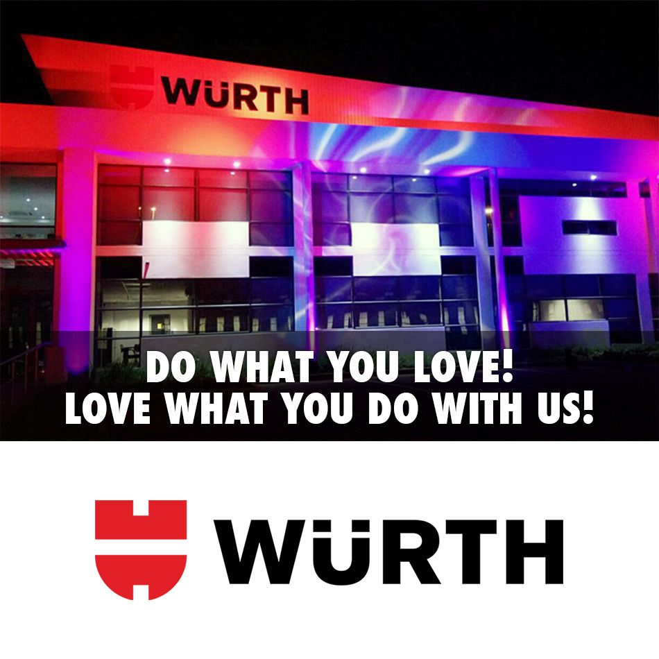 We Are Hiring In Kempton Park Gauteng Wurth Sales Trainee