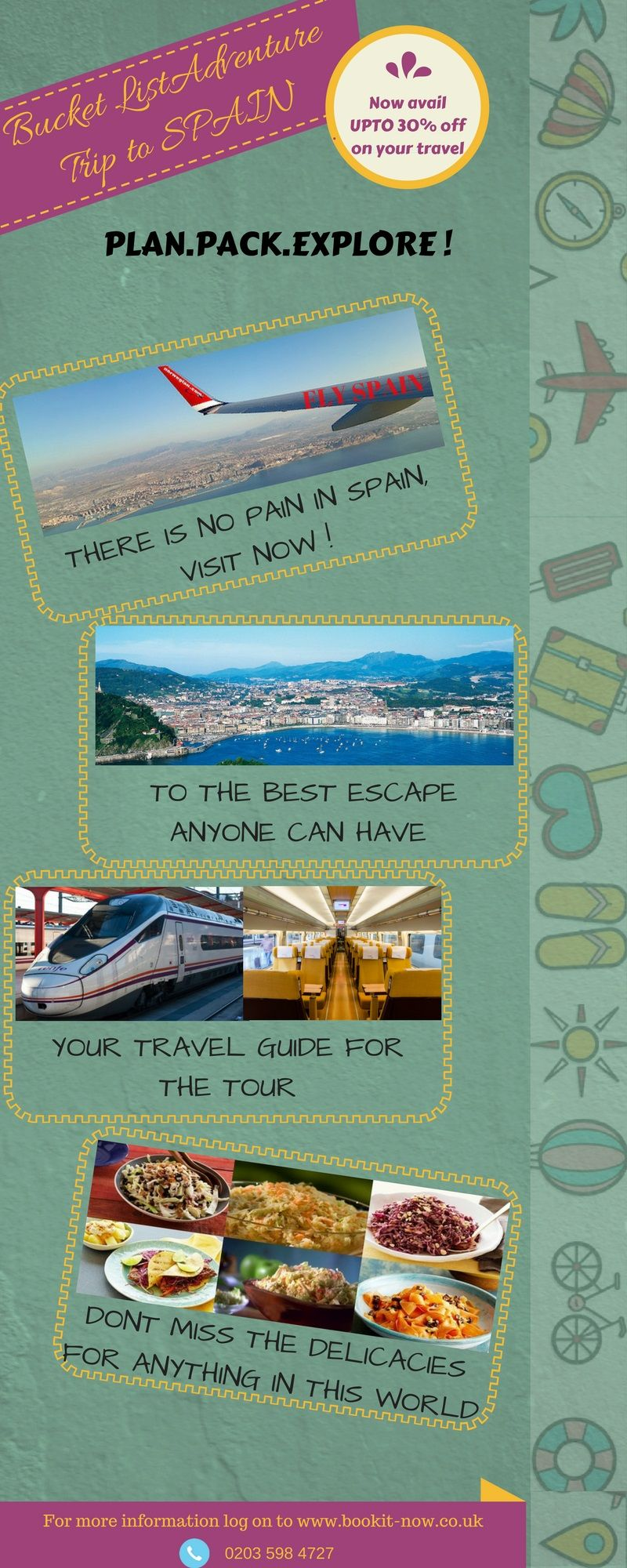 Discover Natural Beauty Of Spain Using All Inclusive