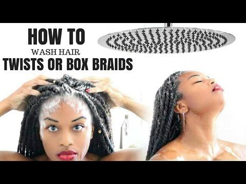 How To Wash Box Braids Without Creating Frizz Highly Requested