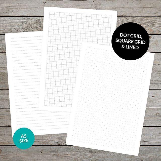 Free Printable Dot Grid Paper For Bullet Journaling Free planner