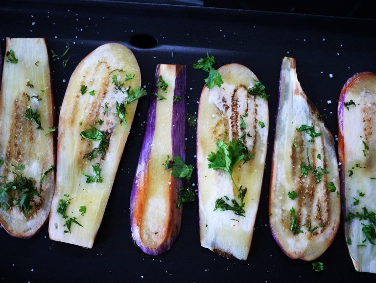 Comment faire des aubergines à la plancha Recipe Food
