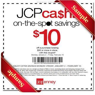 printable jcpenney coupon november december 2015 2016