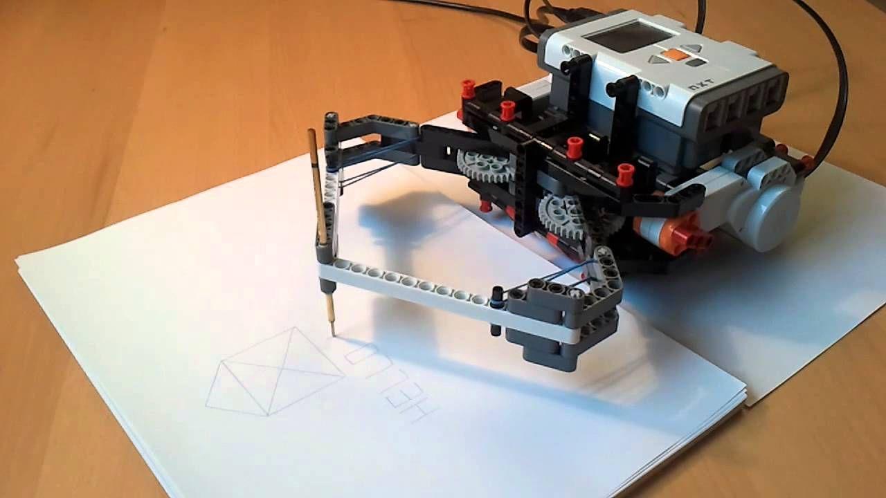 Drawbot Lego Mindstorms Robot Mindstorms Pinterest Lego