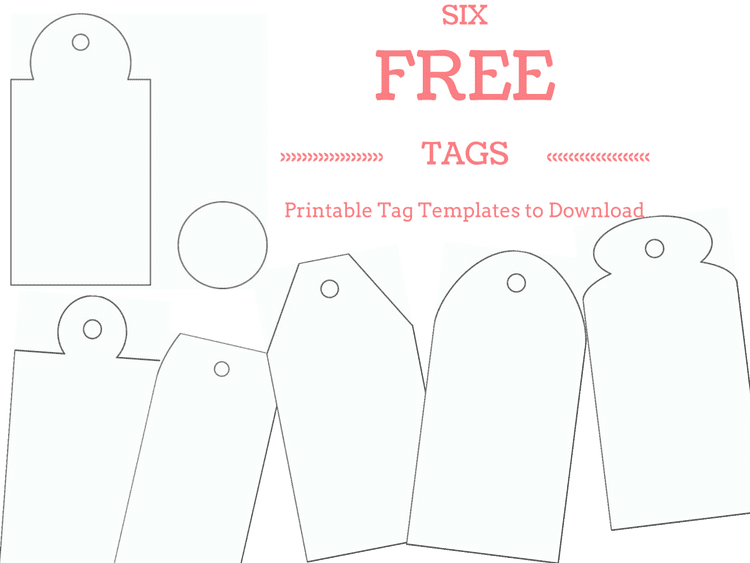 Make Your Own Custom Gift Tags With These Free Printable Tag