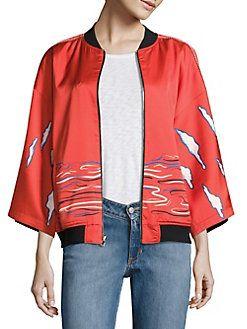 Opening Ceremony - Reversible Kimono Bomber Jacket