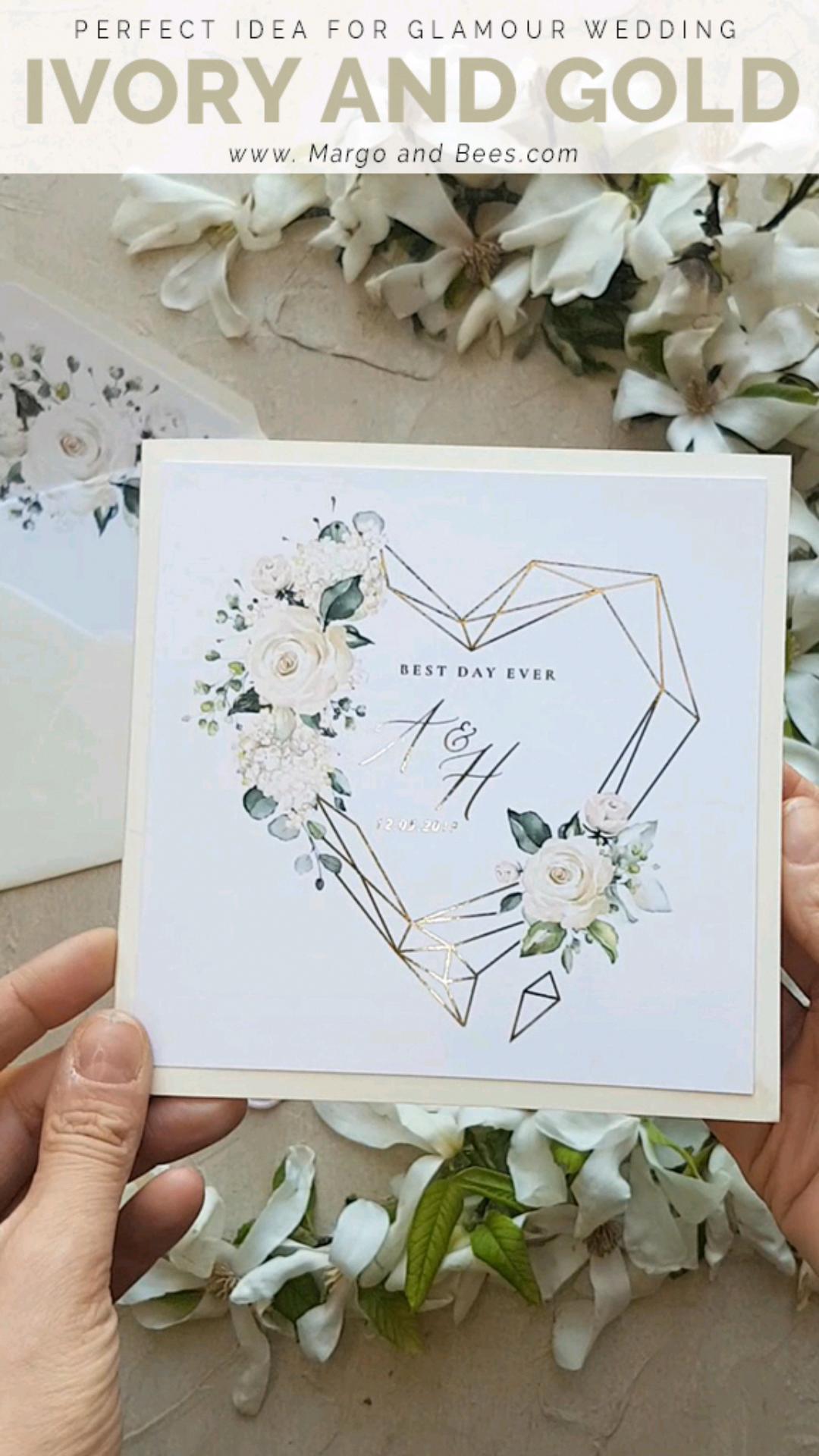 Wedding Invitations Gold Rose Gold Silver Glitter 4 Heartg Z In 2020 Wedding Invitation Cards Wedding Invitations Uk Gold Wedding Invitations