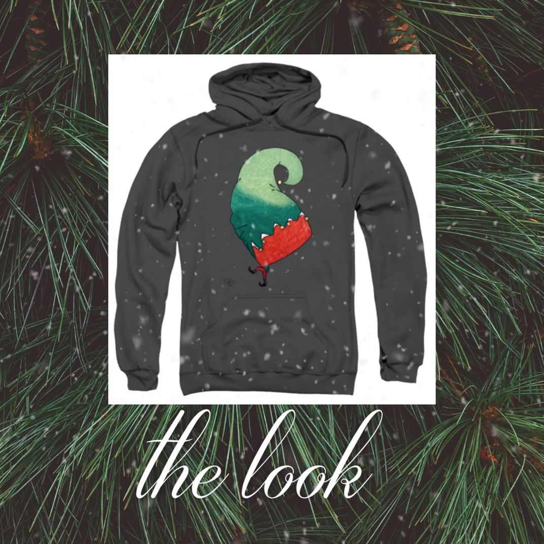 Elf hoodie available on Pixels.com. A Brand new elf hoodie coming up!