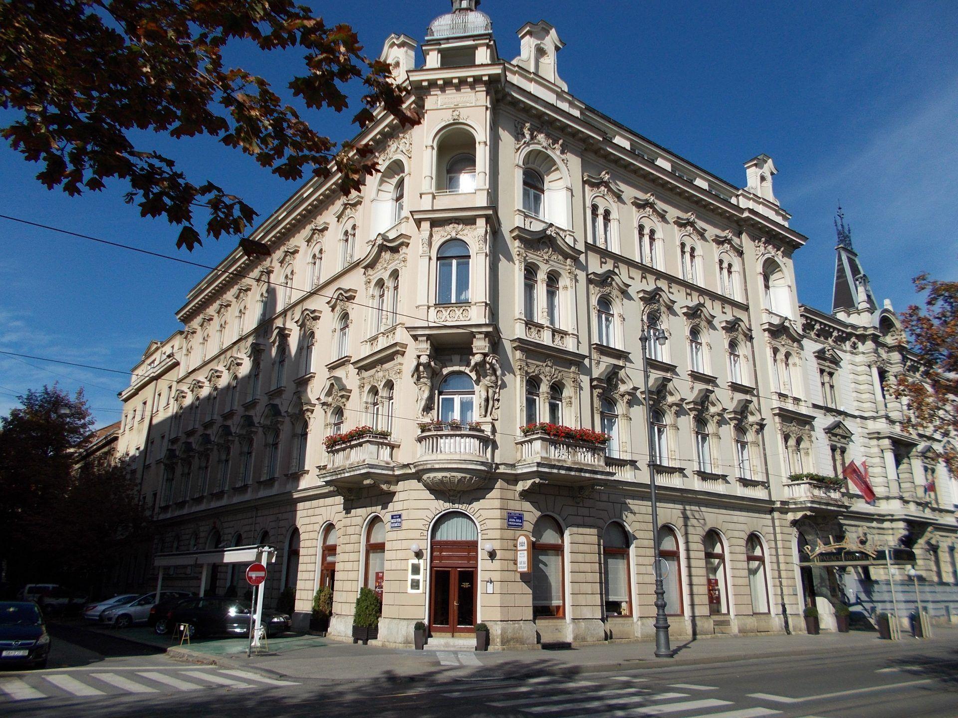 About Hotel Palace Zagrebpalace Zagreb Zagreb Zagreb Croatia Hotel