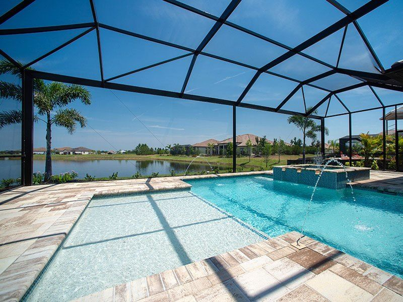 Clear View Screen Enclosures Commercial Residential Aluminum Sarasota Fort Myers Tampa Pool Cage Pool Patio Florida Pool