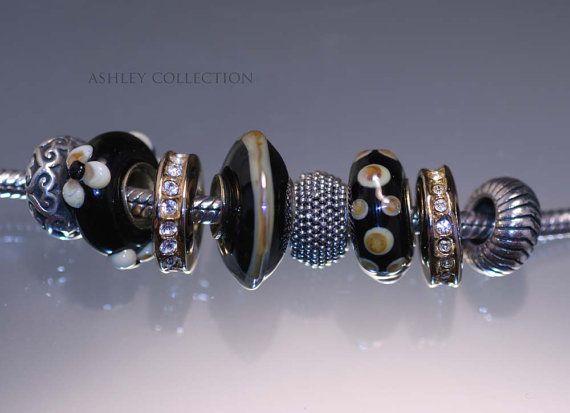Handmade European charm beads by Ann Chambers