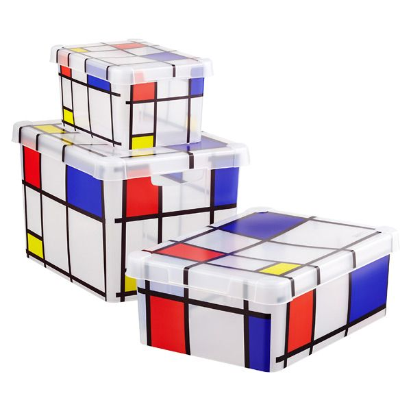 Reciate Art Even At The Storage Level Our Unique Mondrian Bo Will Keep Your Things Safe While Adding Artful Details To Any Room